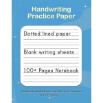 预订 Handwriting Practice Paper: Blank handwriting Notebook w