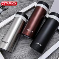 日本泰福高保温杯男女士办公水杯不锈钢大容量商务保温杯直身杯480ML