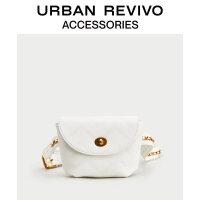 【当当超品价:111元】URBAN REVIVO2020春秋新品青春女士配件格纹翻盖腰包AY14TB8N2000
