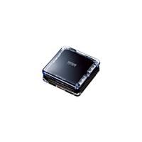 【品牌直供】日本SANWA 包邮!多口USB USB-HUB239BK 2.0高速 分线器usb hub一拖四usb转