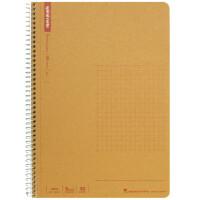 日本maruman玛禄曼|spiral牛皮纸封面螺旋笔记本A5 记事本 方格本