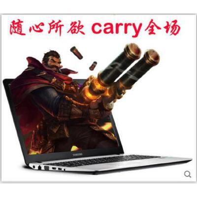 【支持礼品卡】Samsung/三星 NP 500R5H-X06独显15寸多彩时尚超薄游戏笔记本电脑 15.6大屏 i5独显 黑白红三色 时尚轻薄