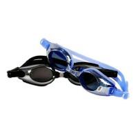 金格尔防雾防紫外线镀铬 大框架近视游泳眼镜