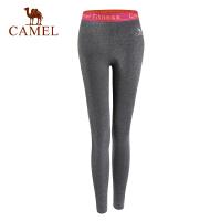 【满259减200元】camel骆驼女运动长裤 跑步健身瑜伽休闲女款针织长裤