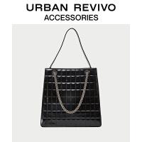URBAN REVIVO2021春季新品女士配件大容量链条单肩包AY05TB2X2000