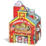 英文原版0 3岁 Workman Mini House Firehouse Co. No. 1 迷你屋系列 消防站 儿