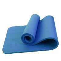 瑜伽垫 男女室内初学者橡胶防滑加宽健身垫家用仰卧起坐运动锻炼辅助防滑垫健身用品