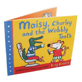 【中商原版】英文原版 Maisy, Charley and the Wobbly Tooth小鼠波波、查理和松动的牙齿