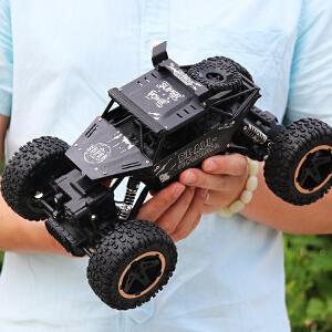 【满159减80】遥控车攀爬车大脚车越野四驱充电漂移赛车男孩儿童玩具车遥控汽车