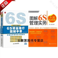 2本 6S精益推行图解手册(超值白金版)+图解解6S管理实务:中国实战版 6s管理实务书籍 企业经营工厂生产管理业绩提