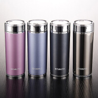富光真空杯不锈钢保温杯420ml女士商务男士泡茶杯便携创意水杯子