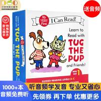 进口英文原版 Learn to Read with Tug 跟塔戈和他的朋友们阅读套装1[4-8岁]