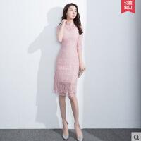 蕾丝旗袍  新款少女时尚短款改良版修身显瘦日常连衣裙