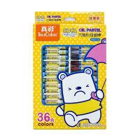 真彩(TrueColor) 2966A-24 24色挂装酷丫油画棒 小盒装