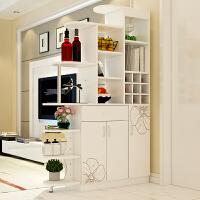 亿家达酒柜鞋柜隔断柜客厅玄关柜现代简约门厅柜大容量屏风柜子