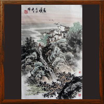 《晨曦》高松1-江苏美协会员,中国美院毕业