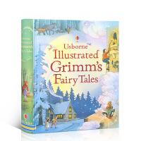 【全店满300减100】英文进口原版 格林童话经典故事绘本 Usborne Illustrated Grimms' Fa