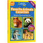 National Geographic KIDS Favorite Animals Collection 4个动物故事