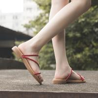 ��菲���D2020夏季新款�鲂�女民族�L花朵�鐾掀降渍嫫づ�鞋1316-1NM