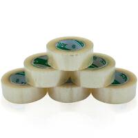 广博(GuangBo)6卷装48mm*200y透明封箱胶带胶布办公文具FX2345