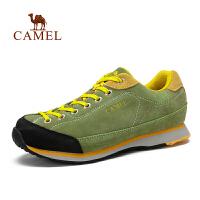 Camel骆驼 户外徒步鞋 秋冬新品男款防滑减震透气低帮徒步鞋