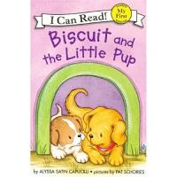 小饼干狗 英文原版 绘本汪培�E书单推荐 0-3岁 Biscuit and the Little Pup (My Firs