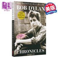 【中商原版】2016年诺贝尔文学奖 鲍勃迪伦 编年史 沿着公路直行 鲍勃迪伦传自传传记 英文原版 Chronicles Bob Dylan