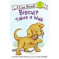 小饼干狗 英文原版 绘本汪培�E书单推荐 0-3岁 Biscuit Takes a Walk