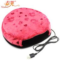 春笑 USB暖手鼠标垫/保暖发热鼠标垫 加热 USB暖手宝 暖宝宝
