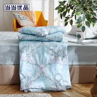 当当优品夏凉被 纯棉纤维可水洗空调被 150*200cm 浮香(绿)