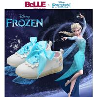 【到手价:159.2元】百丽&迪士尼联名款童鞋儿童小白鞋2019秋季新品休闲鞋女童学生鞋(3-15岁可选)DE1130