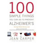 预订 100 Simple Things You Can Do to Prevent Alzheimer's and
