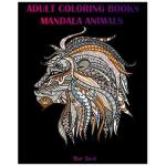 预订 Adult Coloring Books: Mandala Animal Designs and Stress