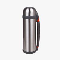 当当优品 户外运动旅行壶 保温壶 不锈钢保温壶 本色 1.2L