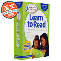 Hooked on Phonics Learn to Read First Grade Levels 5&6 英文原版