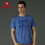 【到手价:119元 6月22日】Marmot/土拨鼠户外运动吸湿排汗防晒短袖速干T恤