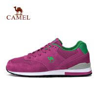 camel骆驼运动跑鞋 女款运动低帮透气缓震马拉松跑步鞋