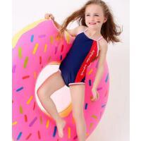 可爱婴儿温泉速干大小童女孩度假游泳衣 新款儿童泳衣女童连体宝宝 支持礼品卡