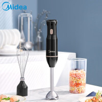 美的(Midea) 料理机MJ-BH30E102A家用多功能料理棒宝宝辅食母婴研磨榨汁机打蛋器绞肉
