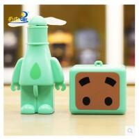手持充电小风扇USB迷你风扇学生儿童小电风扇 静音便携电扇
