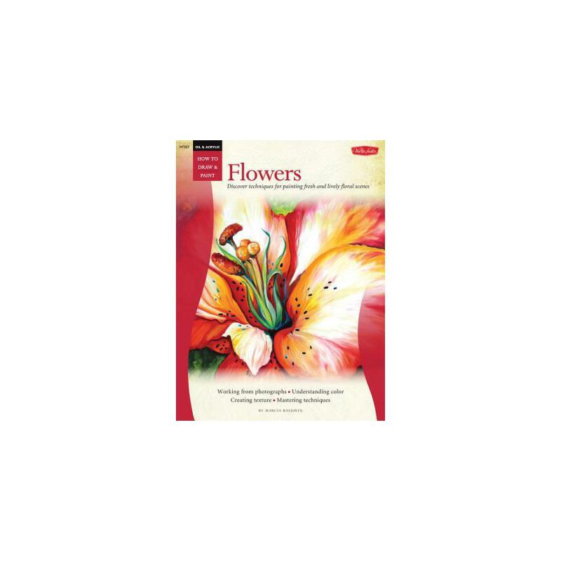 【预订】Oil & Acrylic  Flowers 预订商品,需要1-3个月发货,非质量问题不接受退换货。