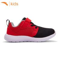 安踏小男童运动鞋魔术贴网鞋儿童休闲鞋子小男孩跑步鞋31739923-1