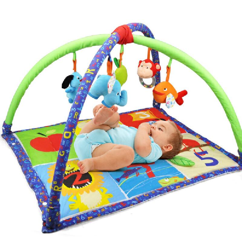 特宝儿 多功能婴儿健身架玩具可拆卸宝宝爬行毯游戏垫岁游戏垫幼儿童玩具160007