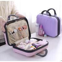 功能简约大号手提专业防水 女士化妆包 旅行化妆箱盒大容量多 支持礼品卡