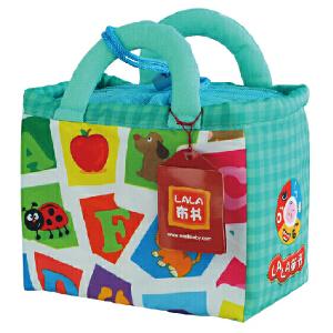拉拉布书婴幼儿益智玩具启蒙与认知宝宝早教 婴儿启蒙布卡-趣味字母认知