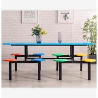 先创XC-ZY125八人位餐桌椅食堂餐桌椅