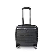 PLOVER香港啄木鸟16寸拉丝万向轮拉杆箱旅行箱登机箱GD200095-16A
