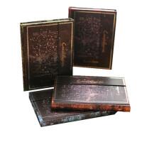 金谷文具复古笔记本32K精装日记本神秘星座迷踪磁扣本欧式记事本