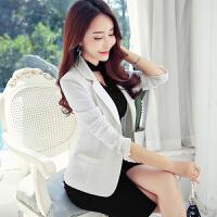 2016春秋新款韩版修身显瘦小西装女外套休闲大码女装小西服