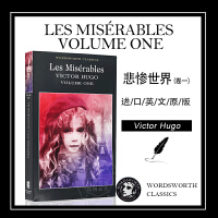悲惨世界 卷1 英文原版 Les Misérables Volume One 雨果 Victor Hugo 文学名著